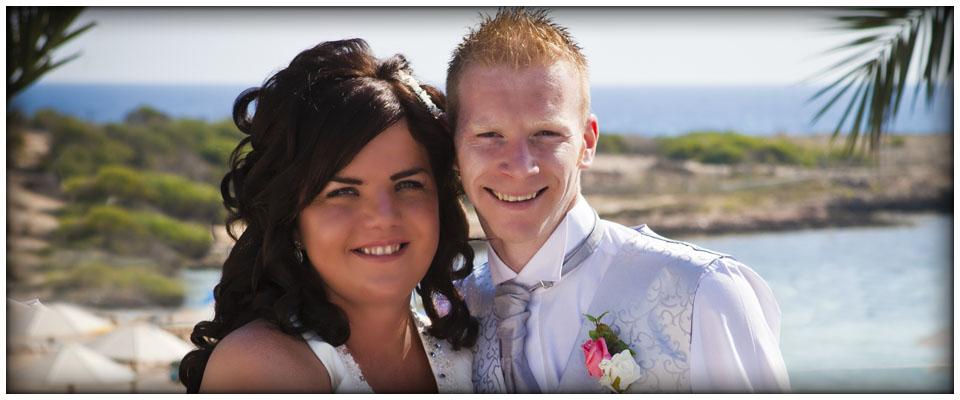 Zoe and Darren 28/09/2012, Dome Beach Hotel, Ayia Napa, Cyprus