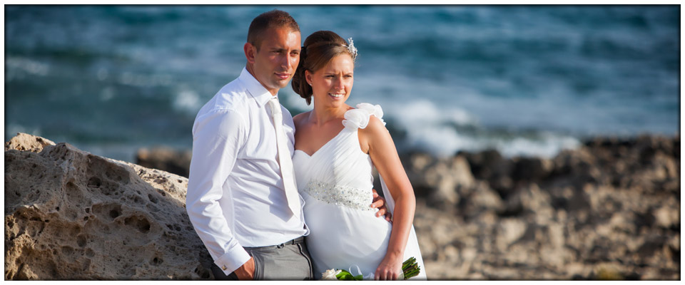 Christie and Ross, 31st of May 2013 at Nissi Beach Hotel, Cyprus