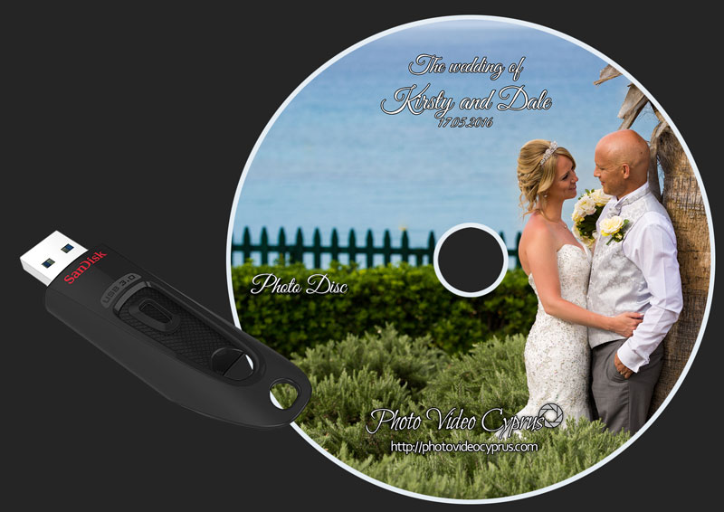 Photos on USB with Backup Disc
