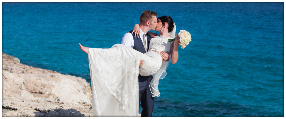 Nadine and Neil 27-05-2013 at Grecian Sands Hotel, Cyprus