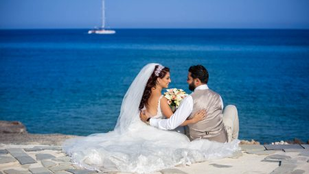 Rachelle and Marc, St. Nicholas Church, Protaras, Cyprus
